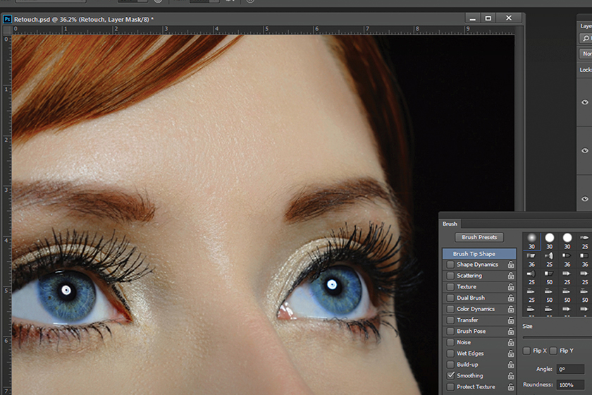 Retouching Candid Color Systems
